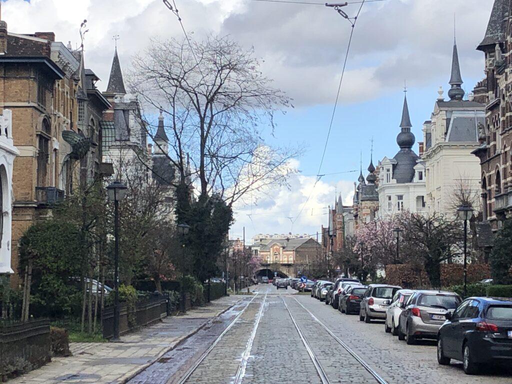 Cogels-Osylei staat van de straat in voorjaar 2019